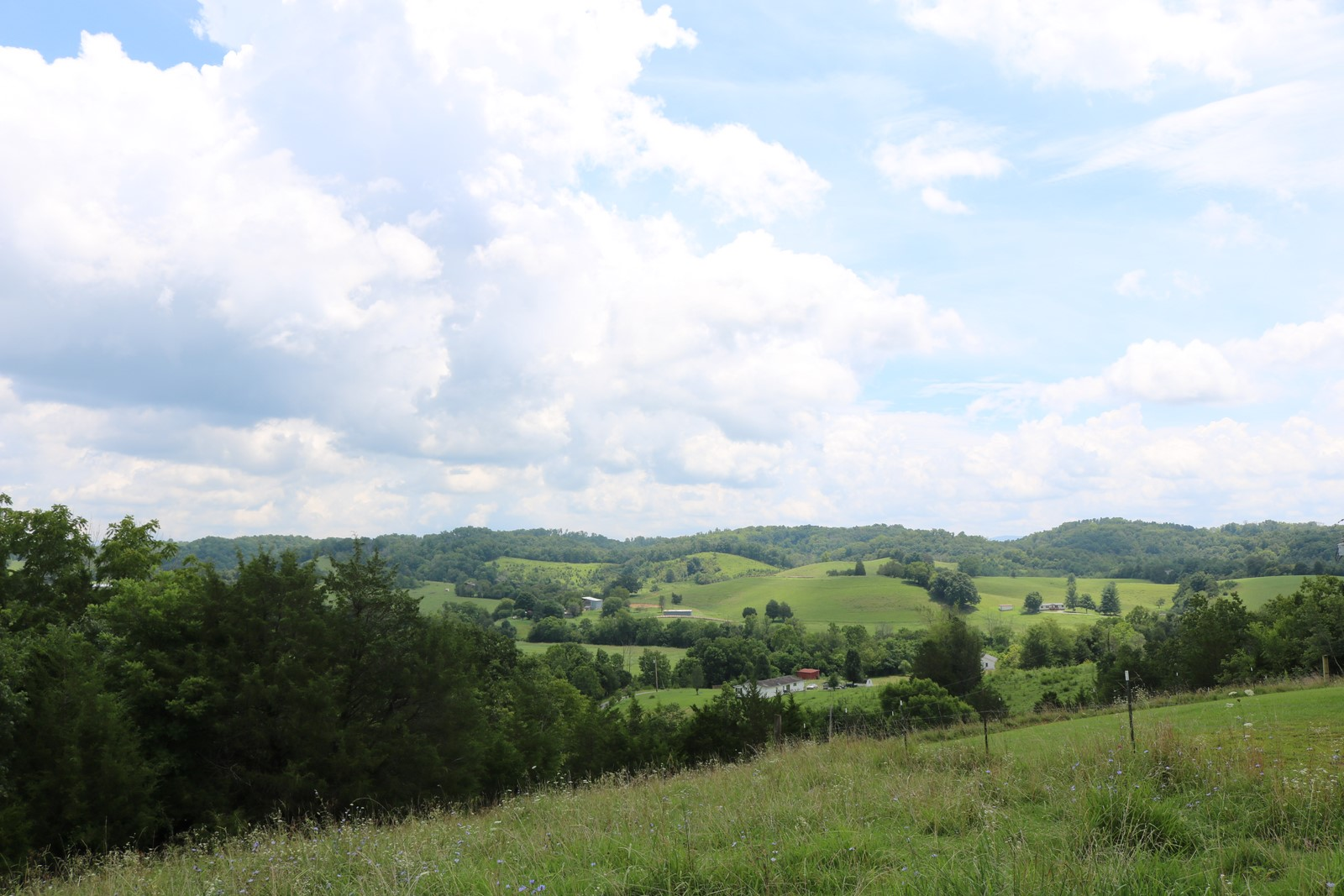 30 Acres with multiple secluded building sites and over 2000 feet of road frontage!